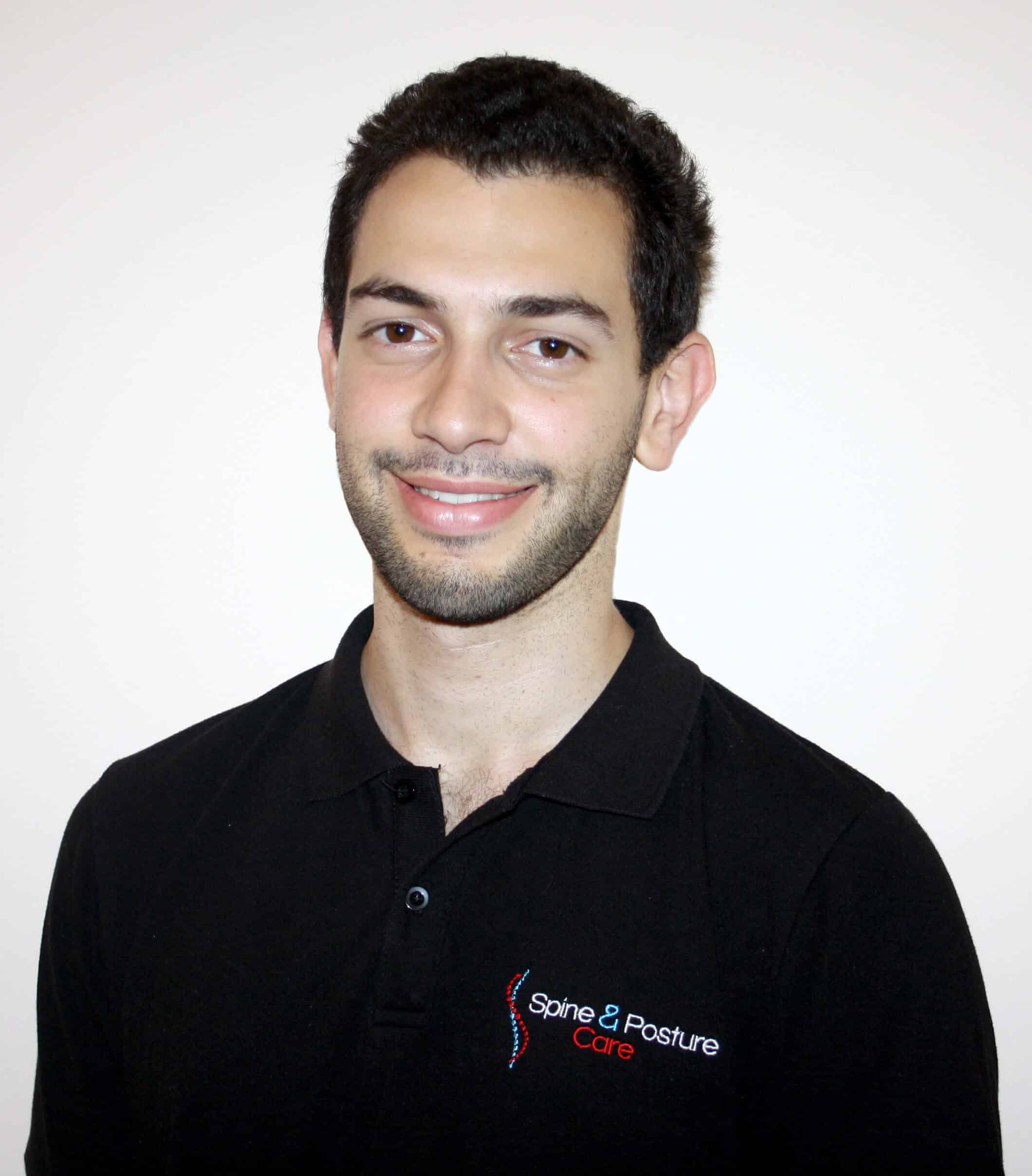 Patrick El-Hayek head physiotherapist of Spine and Posture Care in Sydney CBD